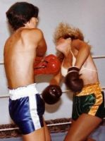 boy vs mom boxing by andypedro