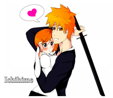 Ichihime Love [Bleach] by AteriShaylee