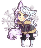 Winty comi for Mintwinter by AQUA-Bunni
