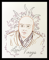 Lord Varys Embroidery by padfootb3