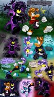 Dark Rayman and good doodles by shaloneSK
