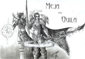 WoW: Meja and Quila by AlphonseCapone