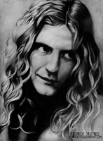 Robert Plant by RonnySkoth