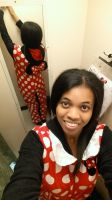 Me in a Minnie Mouse Kigurumi 5 by 8TeamFriends8