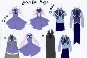 Lorem De Magia's School Uniform by Charming-Manatee