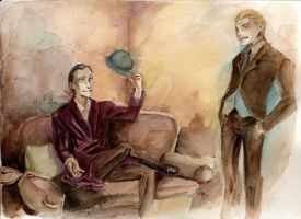 Holmes and the blue carbuncle by MissPaperJoker