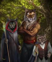 Adventurers three by Hagge