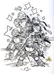 TMNT Sketch by 13wishes