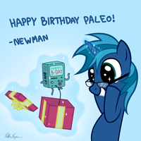 Happy birthday Paleo! by ViktorNewman