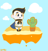 The adventures of Chibi Sips: Hello, Mr Cactus! by Hiiragi-Wasabi