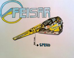 wipeout 2048 Feisar speed by kevisbrill