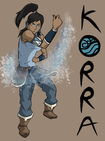 Korra of the Water Tribe by Atakamiwolf