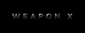 WEAPON X - LOGO by MrSteiners