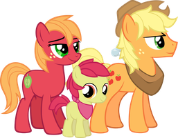 R63 Apple Family by Gray-Gold