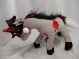Zombie Unicorn by IckyDog