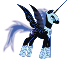 Night Terror Nebula by ShadowVariaMephiles