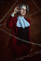 Miles Edgeworth cosplay [6/13] by Jehan-Lavellan