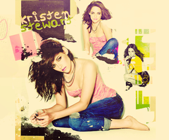 Kristen Stewart Blend by Linds37