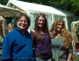 Meeting Brian and Wendy Froud by Elandria