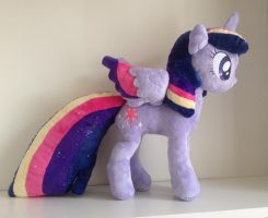 Rainbow Power Twilight Sparkle (WIP) by laurilolly-crafts