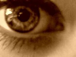 My eye (Sepia) by xoxo-have-fun