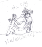 Happy neopets Halloween 2 by Wolfkisses4bidden