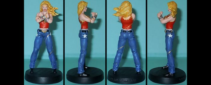 DCU Wonder Girl Cassie Sandsmark custom by Ciro1984
