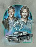 Supernatural- The Brothers Winchester (2015) by scotty309