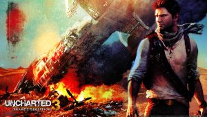 Uncharted 3 - wallpaper by De-monVarela
