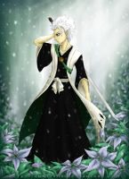 Hitsugaya - Winter Flowers by Anniasha