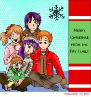 Christmas with the Frys by KittenKagome