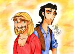 Miguel and Tulio by Jade-Viper