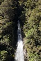 NZ Waterfall a by Chunga-Stock
