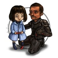 Mako and Stacker by AnnPars