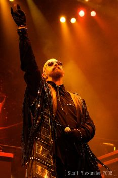 Halford salutes the gods.. by straightfromcamera