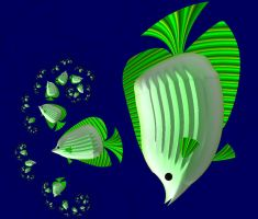 Green Fish by hippychick-nm