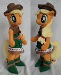 Standing Applejack by agatrix