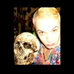Me and my Favorite skull by MushroomBrain