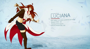 Luciana Lucente by ShortEthan