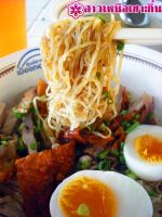 Duck with Noodle and boiled egg by anemoneploy