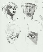 The Four Faces by jhames34