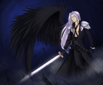 Sephiroth by dismerized