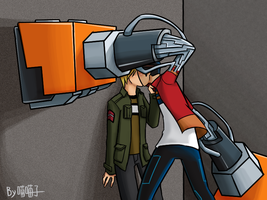 Generator Rex _Just a kiss by aulauly7