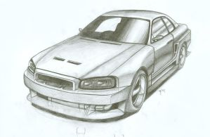 Nissan Skyline R34 by FuseEST