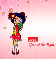 2015 Year Of The Ram by Obeliskgirljohanny