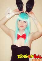 Silly Rabbit!-Bunny Suit Bulma Briefs Cosplay by Hamm-Sammich