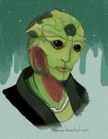 ME 2 Thane Krios by Waanmo