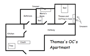 Thomas's OC's Apartment by Iggy--Pender