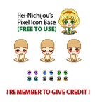 FR - Pixel Icon Base by rei-baahk