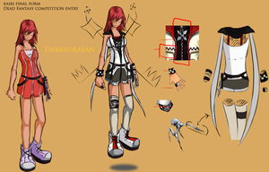 DF contest -kairi Final form by darksorasan